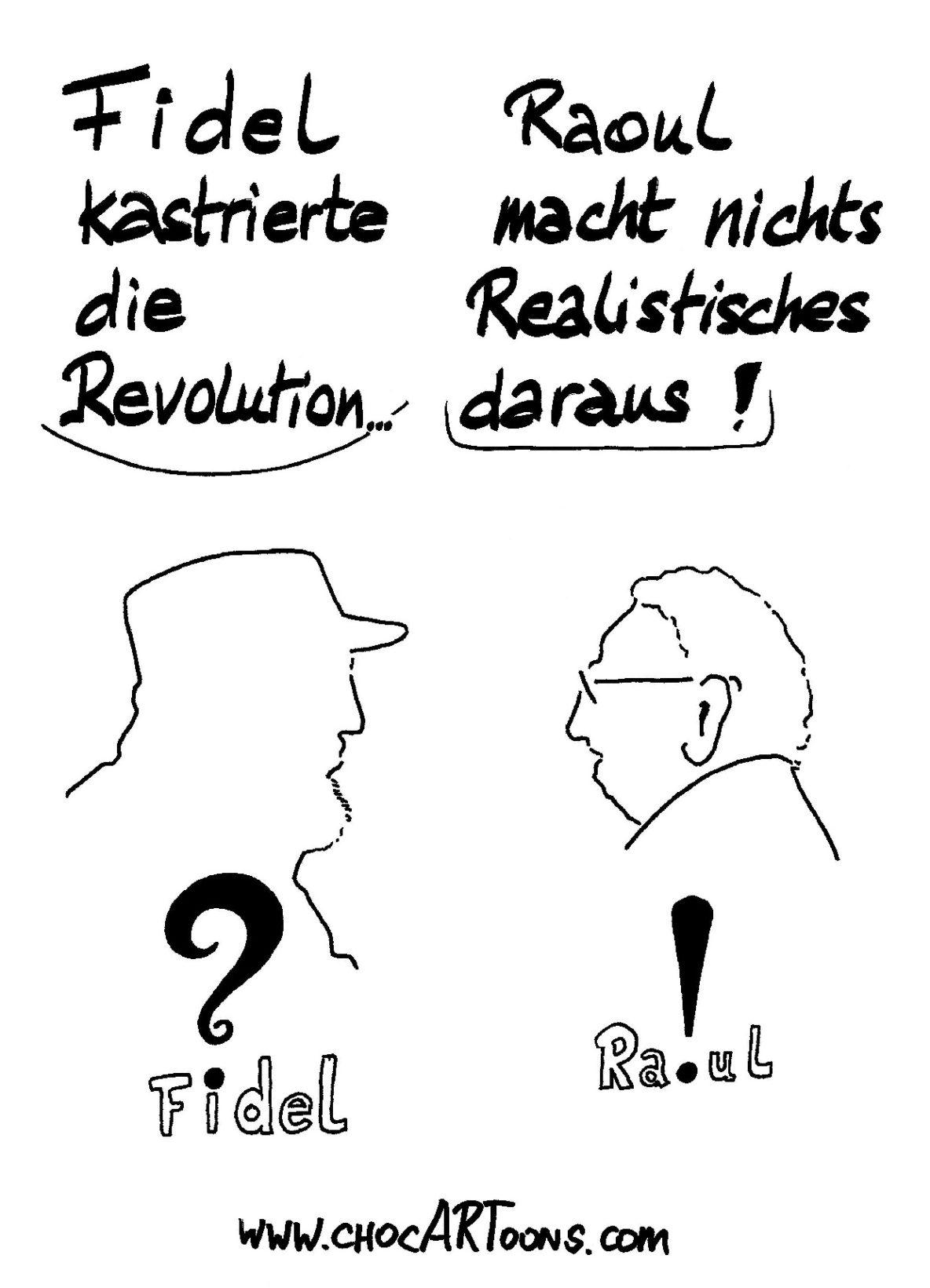 FIDEL & RAOUL CASTRO
