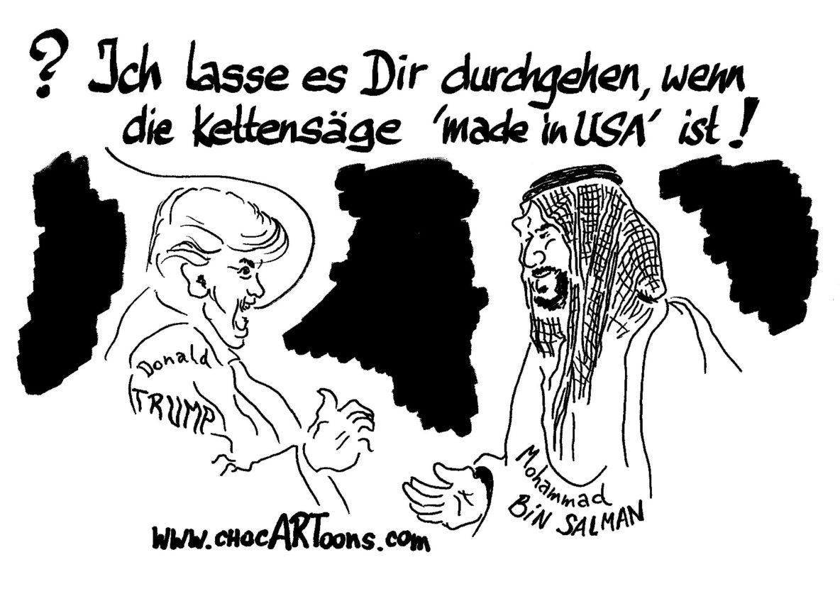 Donald TRUMP & Mohammad BIN SALMAN