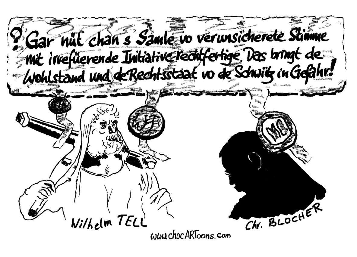 Willhelm TELL & Christoph BLOCHER