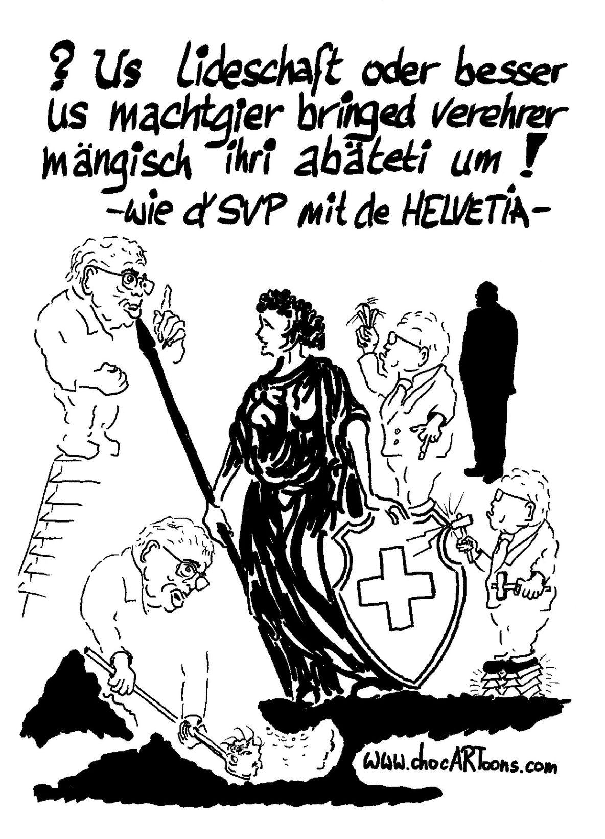 Christoph Blocher & Helvetia