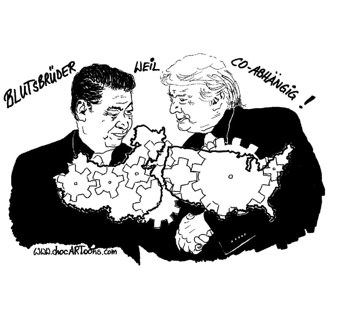Donald TRUMP und Xi JINPING